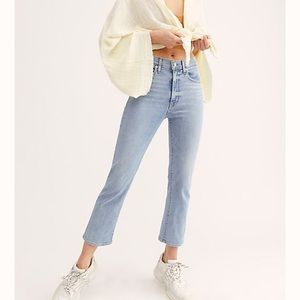 Levi's Cropped Flare Jeans